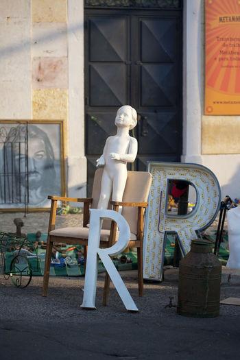Jesus Picture Letters Lisbon Lisbon Street Manequin Metal Letters Swap Meet