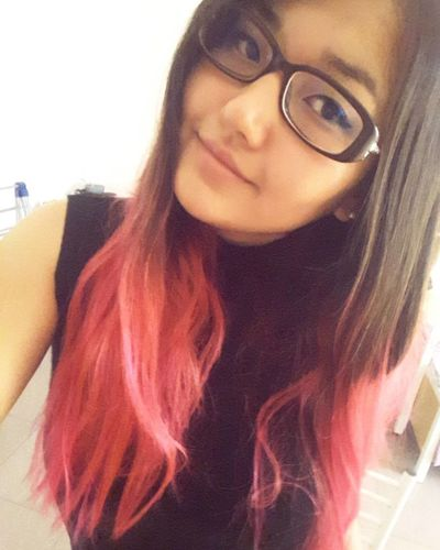 A Ka M Eyeglasses  It's Just Me Myself And I Kamila Ali Love The Way I Am Nothing Special (: Redhairedgirl Selfie 卡米拉 就是我 戴眼镜