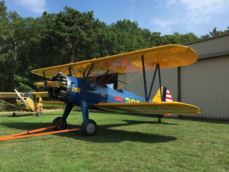 At Bayport Aerodrome, Long Island, NY Aviation Flying Airplane Airport Biplane Vintage Airplane Vintage Aircraft Bayport