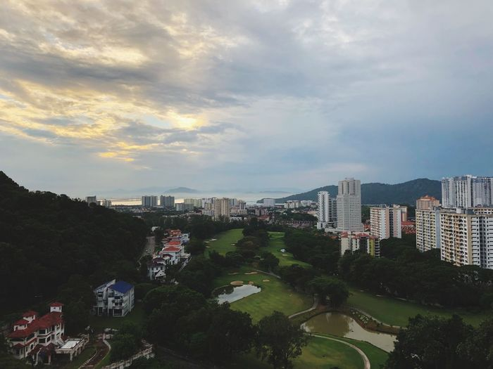 Scene of Nature. Penang EyeEm Gallery EyeEm Pro Editor EyeEm Best Shots EyeEmNewHere EyeEm Selects EyeEm Nature Lover Malaysia Eyemphotography Building Exterior Architecture City Built Structure Cloud - Sky Sky Building Cityscape High Angle View
