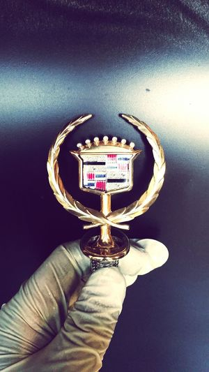 Cadillac Emblem 24 karat vergoldet