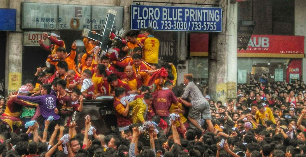 Feast of the Black Nazarene. Outdoors Crowd EyeEmNewHere