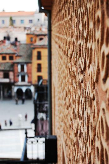 Segovia Segovia,spain Ciudad Celosía Building Exterior Built Structure Architecture No People City Day Close-up Outdoors Tilt-shift