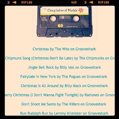 19 Dic. Qualche giorno fa ho creato la Cassettina di Natale per uncannynerdz.it Chi di voi le faceva e chi le fa ora? La mia canzone preferita é dei Ramones, Merry Christmas (don't wanna fight tonight) Ilclubdelnataleasettembre Ilclubdelcalendario2012 Punk Tape grooveshark natale christmas vintage