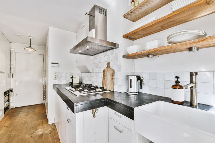 Interior of kitchen at home