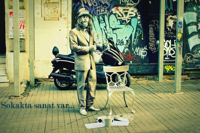 Cansız Manken Street Art Street Life Street Art/Graffiti Street Photography Eyem Best Shots Istanbul Istiklal Caddesi Turkey Sektör Yapım