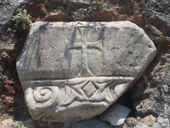 Tlos Antik Kenti, Fethiye- Türkiye Antik Old Sand Close-up
