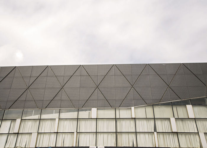 Built Structure Architecture Building Exterior Low Angle View Sky Cloud - Sky No People Building Pattern Day Modern City Nature Outdoors Geometric Shape Glass - Material Design Shape Office Building Exterior Office