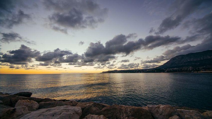 GH4 SPAIN Sunrise Wideangle Sea