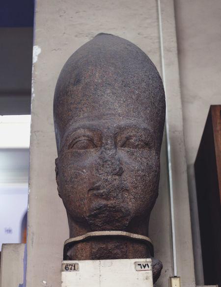 Ancient Civilization Art Art And Craft ArtWork Close-up Crativity Creativity Egypt Egyptian Museum Egyptology HEAD Human Representation Pharahos Statue Sculpture Statue Statue Statues Still Life Stone