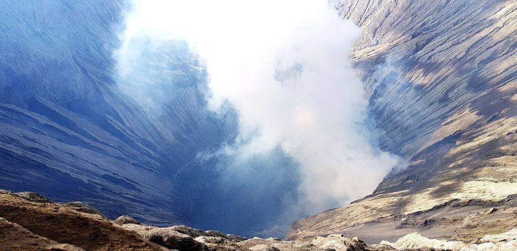Volcano INDONESIA Vulcano Active Volcano Steam Vulc Power In Nature Geology Bromo-tengger-semeru National Park East Java Province Erupting Volcanic Landscape Volcanic Crater Natural Landmark