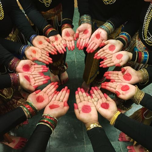 Beautiful Hands of Bharatanatyam dancers! Togetherness Teamwork Unity Human Hand Indian First Eyeem Photo