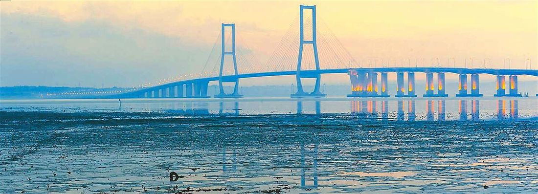 ...panoramic views Pastel Power Taking Photos Check This Out Hi! Hello World Surabaya Madura Island Landscape_photography Long Exposure Suramadu Bridge Bridgeporn Bridge - Man Made Structure Bridges_aroundtheworld Bridge