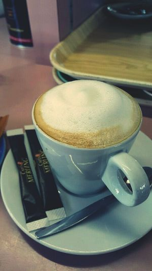 Coffee ☕ No People Coffee And Sweets Coffee Art Cream Day Waitress At Work Barmaid Bartenders Life🍸🍺🍻🍷🍹