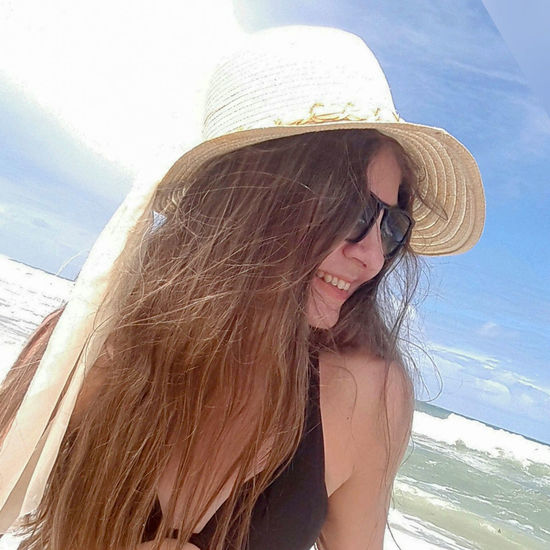 People And Places Leisure Activity Long Hair Sunglasses Casual Clothing Outdoors Sea Beauty Nature Vacation Time Tropical Climate Feeling Blessed Non-urban Scene Feeling Happy Young Adult Brazilianwoman Person Vacations Clear Sky Trip Photo Relaxation Enjoying Nature Brazilian Woman Portrait Lifestyles