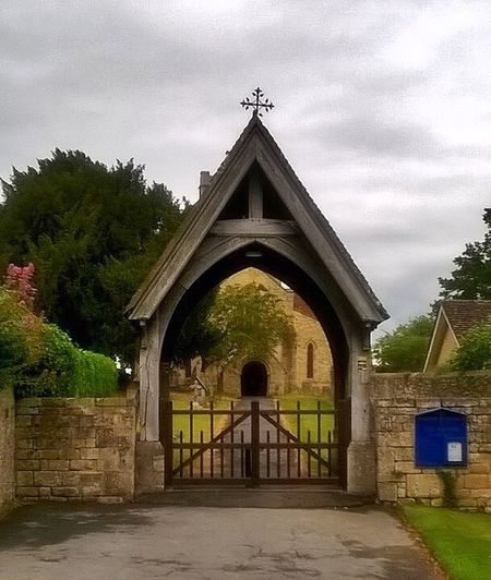 Beautiful old church with a lovely archway built in the1180