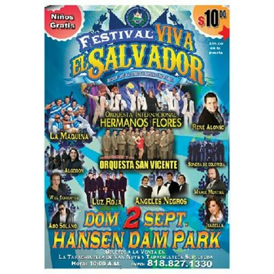 "For those who have asked me here is the info for ""Viva ElSalvador  Festival"" last year it was sold out! So get ticks ahead of time."