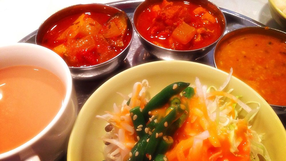 Curry Spice Chai ランチタイム