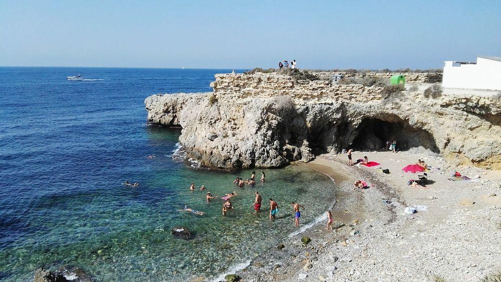 Tabarca's Island Tabarca Paraiso☀🍃 Paradaise Paraisonatural Beach Beach Photography BEACH!  Wonderful Wonderful Day Sea And Sky Mar Mediterranean Sea Mar Mediterráneo Photooftheday