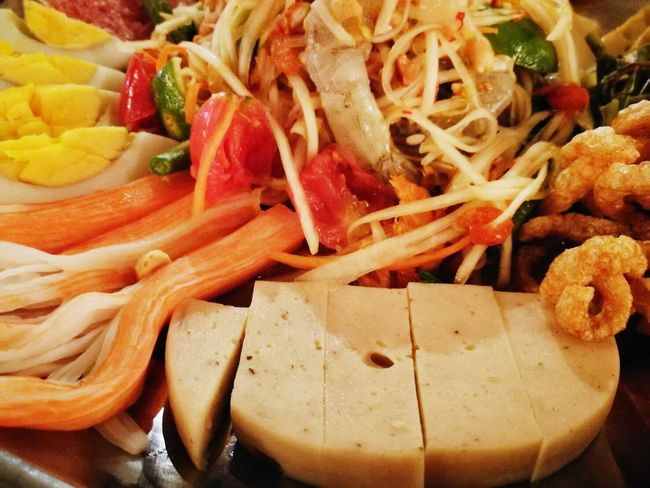 Food And Drink Food Healthy Eating Freshness Vegetable No People Indoors  Close-up Ready-to-eat Day ตำถาด