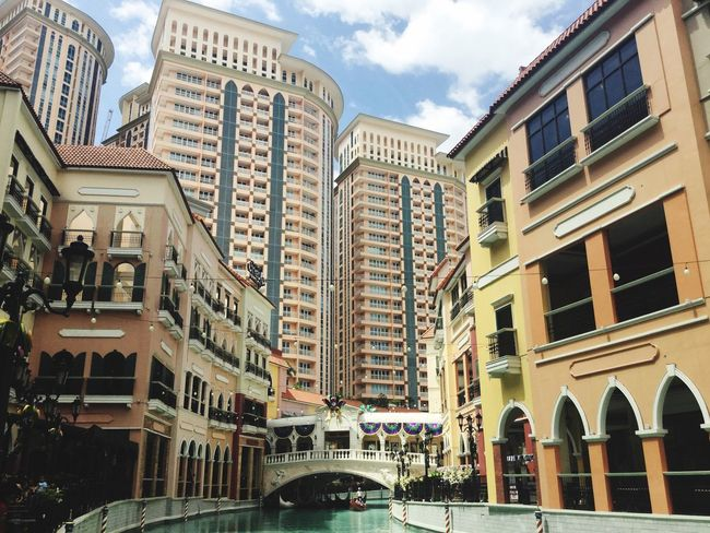 tara na byahe tayo Architecture Building Exterior City Built Structure Building City Life Outdoors Sky No People Low Angle View Modern Cityscape