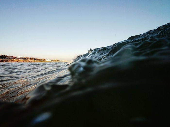 Wave in water
