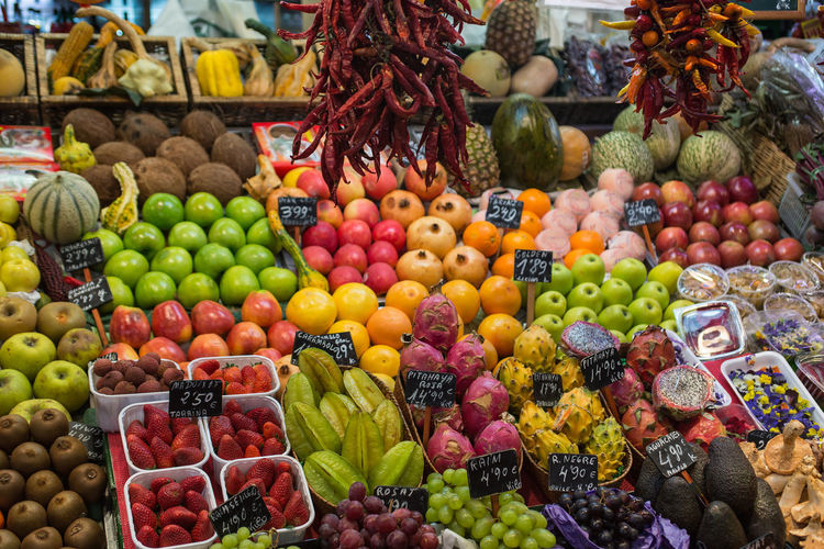 Abundance Buying Choice Close-up Collection Colorful Day Display Food Food And Drink For Sale Freshness Fruit Group Of Objects Large Group Of Objects Market Multi Colored No People Retail  Retail Display Variation Variety Various
