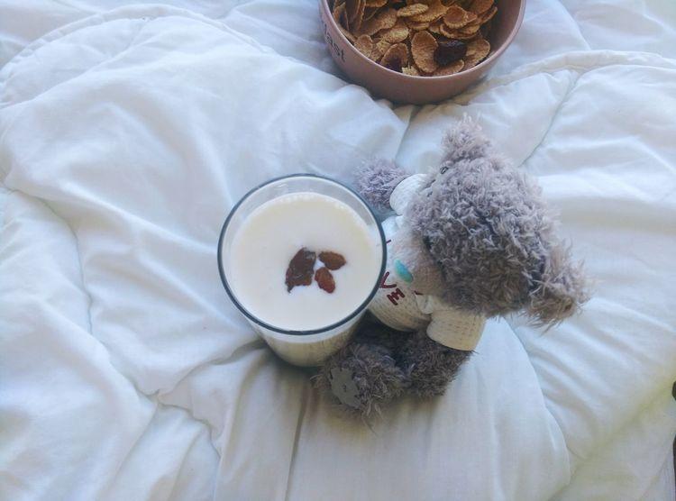 My Favorite Breakfast Moment Teddybear Morning via Fotofall Food Stories