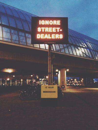Activism Art Light Train Train Station Neon Neon Lights Growing Better ⚠️✋?? no drugs! The Photojournalist - 2015 EyeEm Awards Your Amsterdam