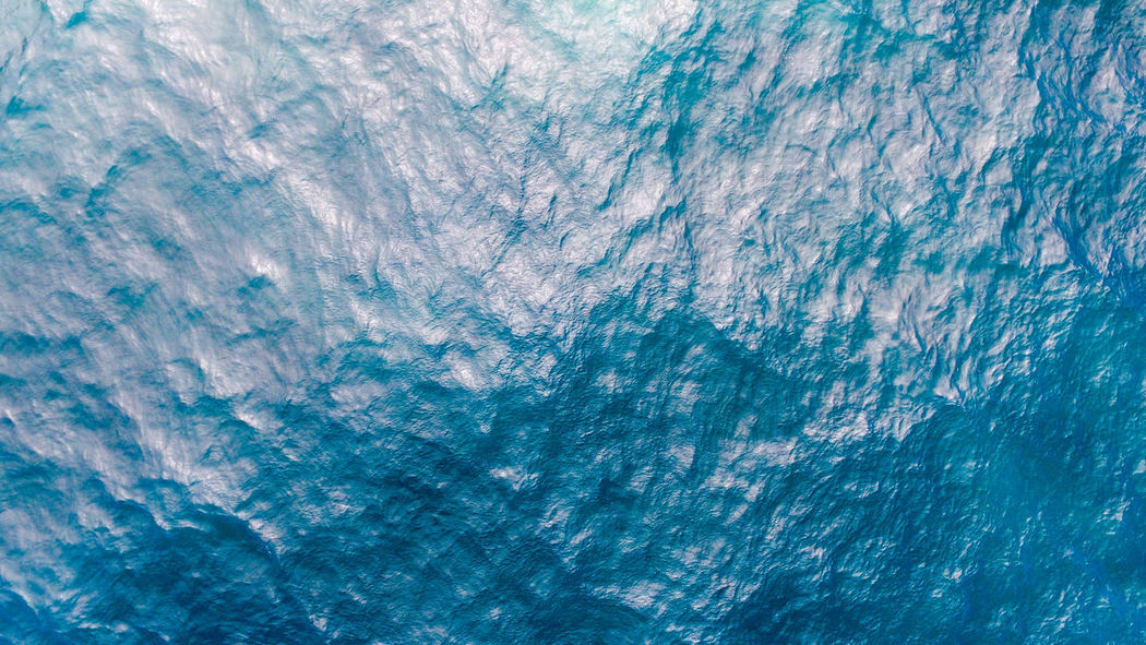 Natures Art Areal Areal View Art Backgrounds Beauty Beauty In Nature Blue Full Frame Hawaii Nature Ocean Rough SeaArt Textured  Water