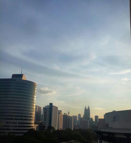 Kuala Lumpur Malaysia  Klcc from far