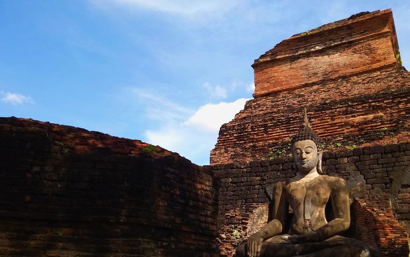 Exposed Buddha