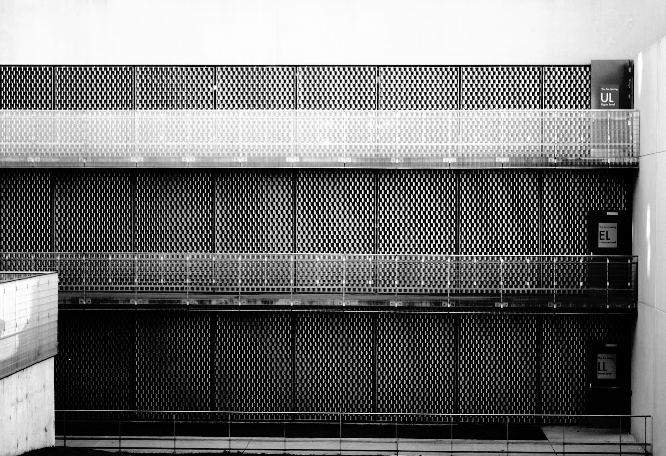 architecture, built structure, building exterior, pattern, wall - building feature, metal, railing, window, closed, building, no people, wall, protection, safety, day, security, full frame, repetition, outdoors, residential structure