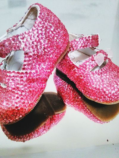 Shiny Pink Shoes Shoes ♥ Pink!