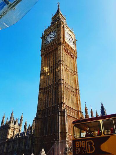 London Big Ben Clock Face Travel Destinations Architecture