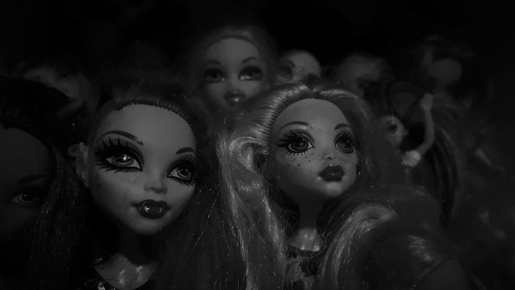 Close-up Monsterhigh Play Childrens Toys