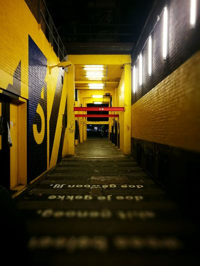 Black Yellow Relax❤️ Outdoors Taking Photos Focus Object Smoking Beautiful ♥ Tranquil Scene Friends Weed Blackandyellow Taylor Gang Naugty Rotterdam Tunnel Tunnel Vision No People Night Nightphotography Streetphotography Street City City Life Abandoned Picoftheday 🔥City by night🔥