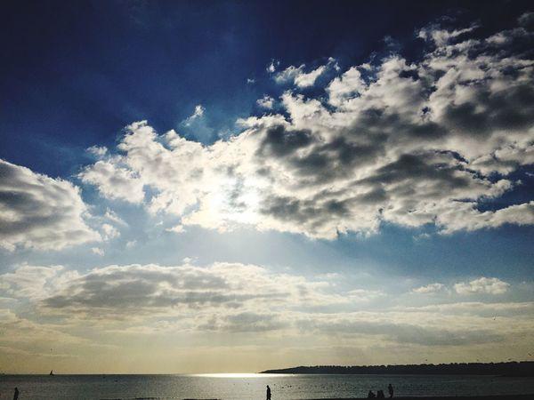 Sonsuzluğa açılan kapı Gökyüzümavi Bulut Deniz Sun First Eyeem Photo