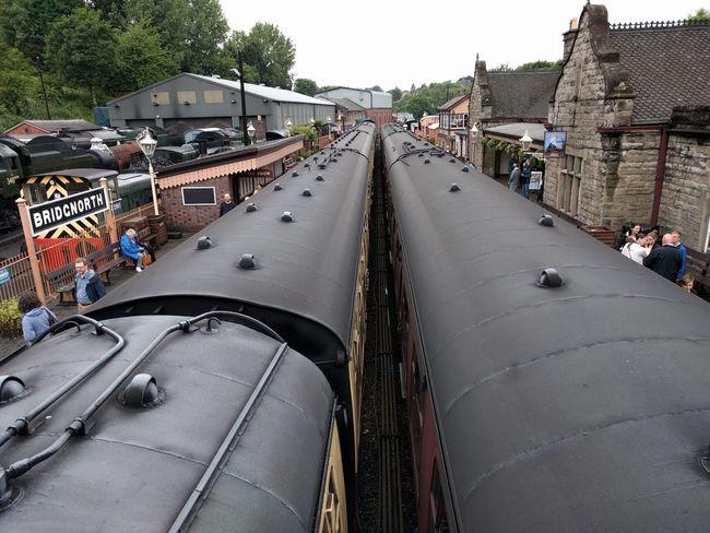 Steam Engine Severn Valley Railway Cloudy Bridgnorth
