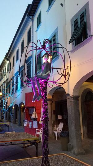 Architecture Iron Iron Work Italy Sculpure Statue Stia Town