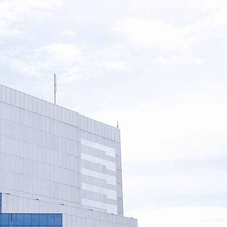 Up above. Architecture Minimalism Minimal Simple Pastel Bluesky Blue White Clouds Exploremn Fujifilm_xseries Fujifilm Fujifilmxt1 FujifilmX_US Eyeemoninstagram The Architect - 2016 EyeEm Awards FUJIFILM X-T1