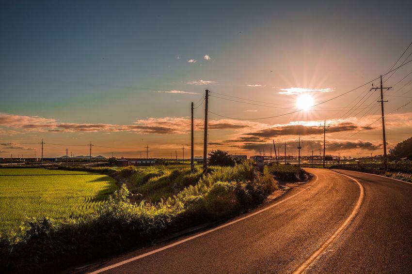 Beauty In Nature Cloud - Sky Landscape Landscape #Nature #photography Road Roadtrip Tranquil Scene Tranquil Scene Nature