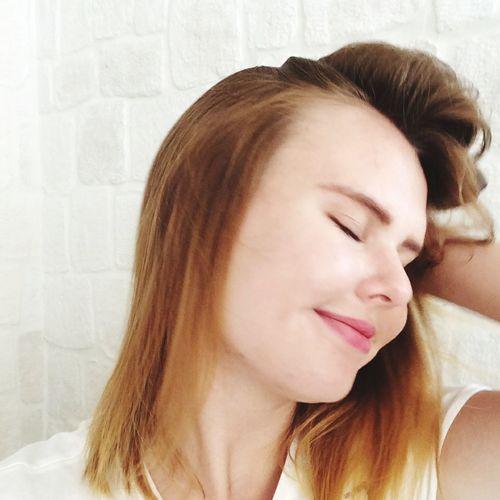 Young Women Beautiful Woman Headshot Women Relaxation Beauty Long Hair Eyes Closed  Human Face Females World Cup 2018
