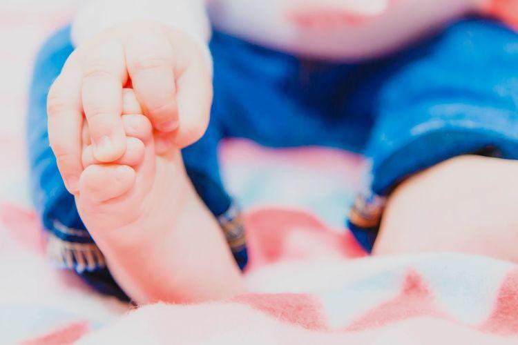 Baby hand Baby