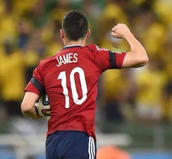 Vamos! Jamesrodriguez Colombia