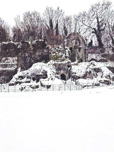Clydach Ironworks Historical Building Derelict Ironworks Cold Temperature Weather Nature Frozen Outdoors Landscape