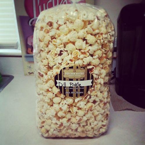 What you know about dat dill pickle popcorn? Popcornbistro Dillpicklepopcorn