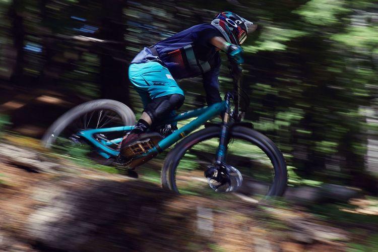 MTB MTB Team Dirt Alsea Falls Blurred Motion Sport Motion Bicycle Speed