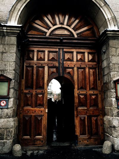Trinity College Arch Architecture Built Structure Entrance Door History Day Building Exterior Place Of Worship No People Outdoors