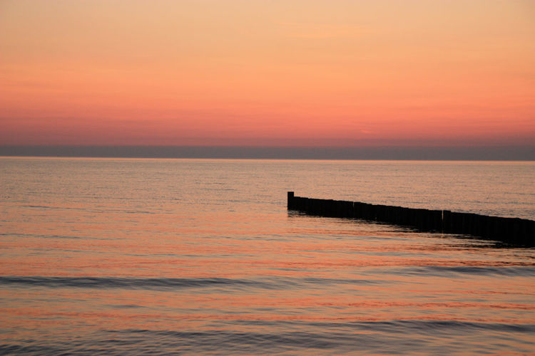 Baltic Sea Freedom Release Stress Tranquility Beauty In Nature Calm Down Day Evening Horizon Horizon Over Water Idyllic Nature No People Outdoors Red Sky Scenics Sea Silhouette Sky Sunset Tranquil Scene Tranquility Travel Destinations Water EyeEmNewHere